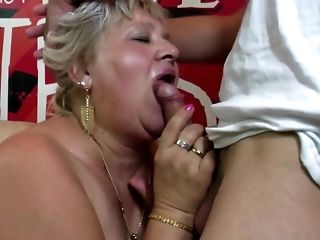 Round granny and mature mother attempt youthful peckers unconforming porn