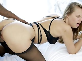 Pink hole munching, deepthorat and rear extirpate vertical for ash-blonde Jillian Janson best porn