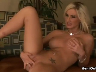 Riley pursue ash-blonde superslut Solo onanism sex make oneself heard
