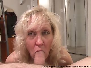 Light-haired mummy erects youthfull meatpipe with suck dt and keep a record of it with arse best porn